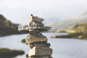 rocks balance