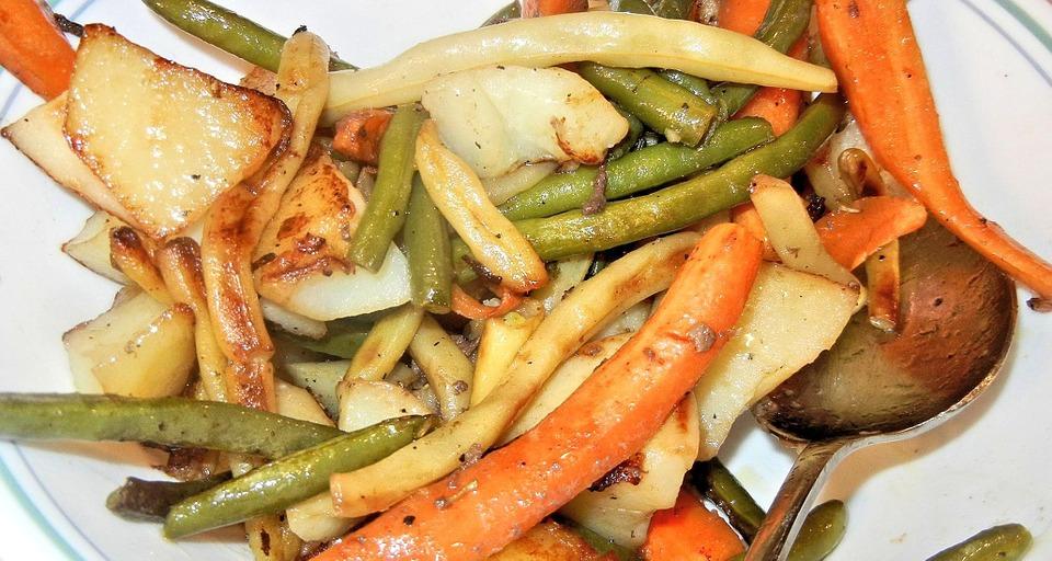 Ginger Vegetables